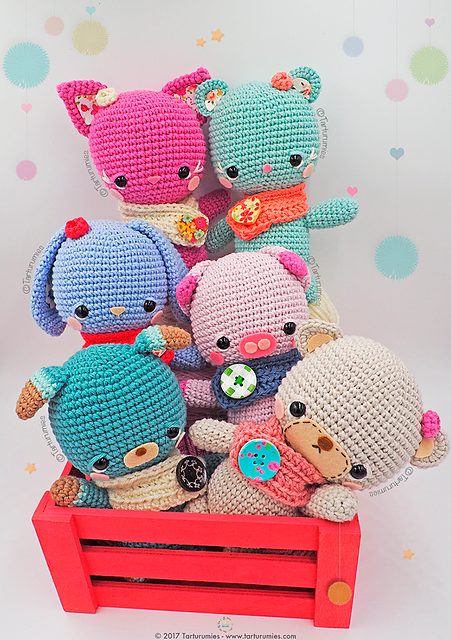 Amigurumis Little Kawaii Free Crochet Pattern | Free Crochet Patterns
