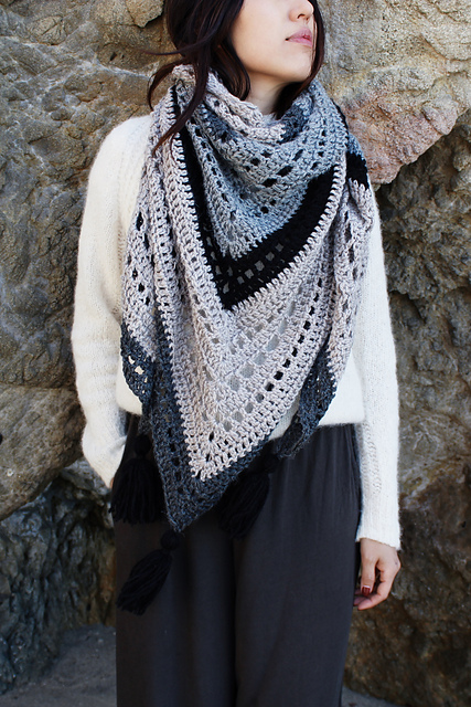 Mystic Morning Wrap Shawl [Free Crochet Pattern] | Free Crochet Patterns