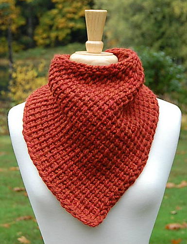 Scarf With A Simple Tunisian Stitch Free Crochet Pattern