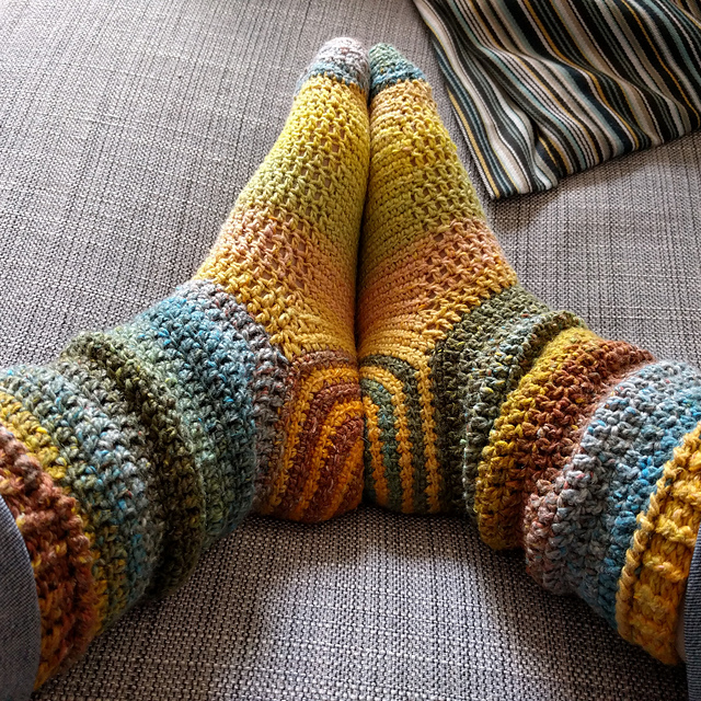 Spiral Socks Free Crochet Pattern Free Crochet Patterns