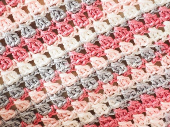 Block Stitch Blanket Free Crochet Pattern Free Crochet Patterns