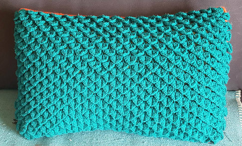 Crocodile stitch pillow free crochet pattern free crochet patterns crocheted is a crocodile stitch amazing view its a free pattern you can use any color to make this pattern if you like this stitch dt1010fo