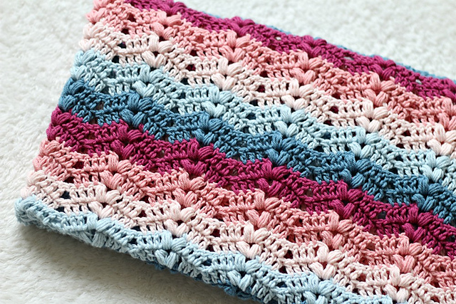 Ruby Baby Blanket Free Crochet Pattern Free Crochet Patterns