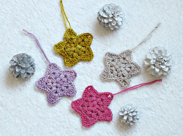 Star Ornament Free Crochet Pattern Free Crochet Patterns