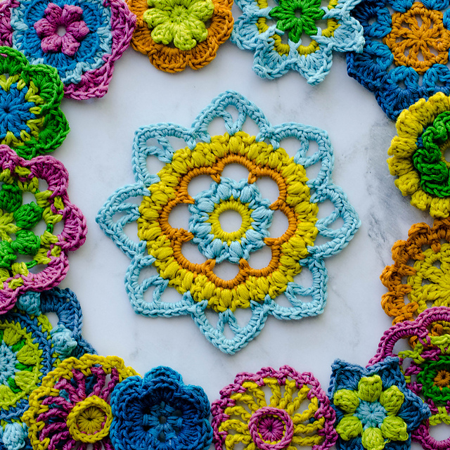 365 Days of Flowers Free Crochet Pattern | Free Crochet Patterns