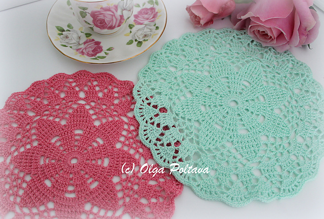 Dreaming of Spring Doily Free Crochet Pattern | Free Crochet Patterns