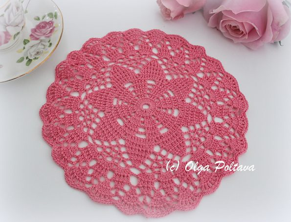 Dreaming Of Spring Doily Free Crochet Pattern Free Crochet Patterns