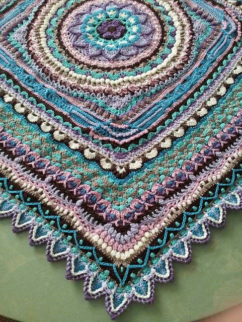 Jacaranda CAL Blanket Free Crochet Pattern Free Crochet Patterns Amazing Crochet Patterns