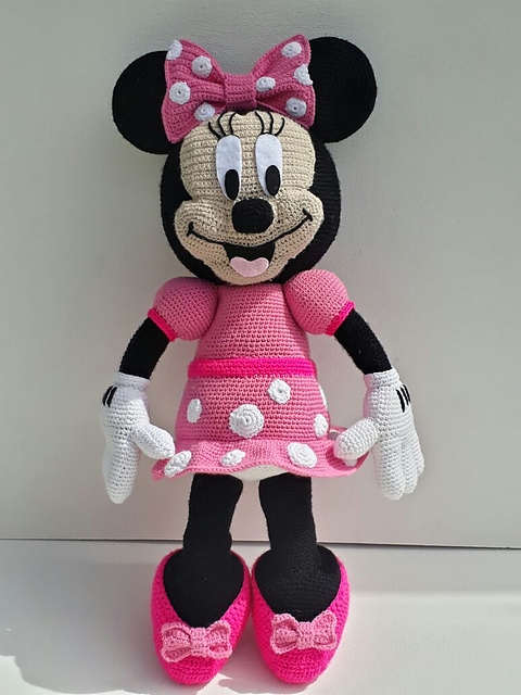 Minnie Mouse Free Crochet Pattern Free Crochet Patterns