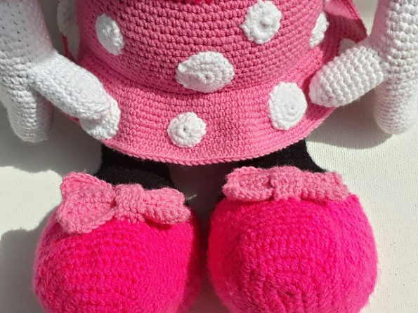 Free Pattern Friday: Minnie Mouse Amigurumi | Crochet mickey mouse ... | 446x595