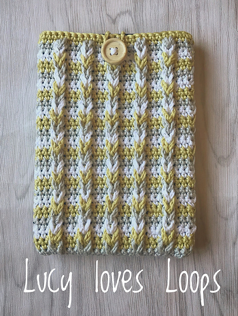 Cable Kindle Cover Free Crochet Pattern Free Crochet Patterns