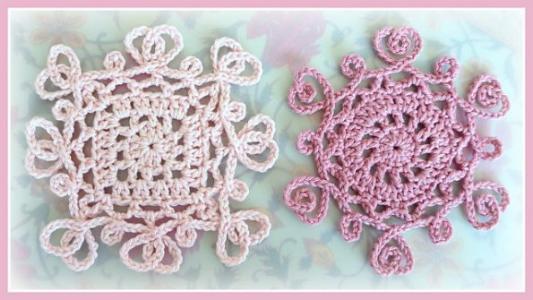 Filigree hearts round free crochet pattern free crochet patterns it is a very simple pattern its very effective is made of filigree yarn add an item to your blankets or pillows its wonderful its a free pattern dt1010fo