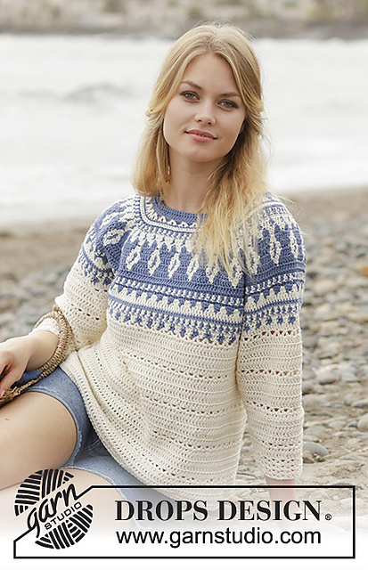 Nordic Sweater Free Crochet Pattern Free Crochet Patterns
