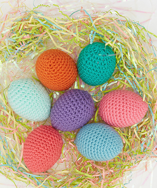 Springtime Easter Eggs Free Crochet Pattern Free Crochet Patterns