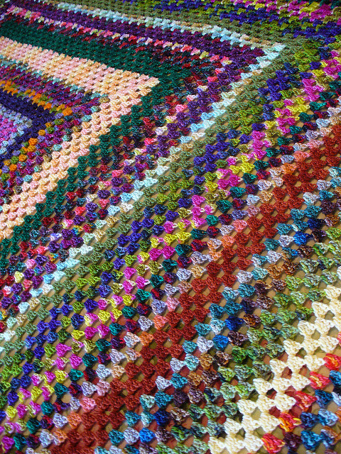 Basic Granny Square Blanket Free Crochet Pattern Free Crochet Patterns