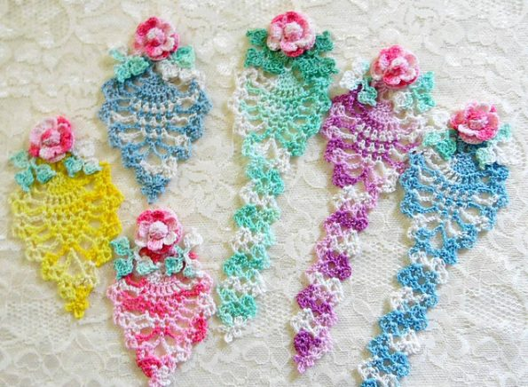 Pineapple Bookmark Free Crochet Pattern Free Crochet Patterns