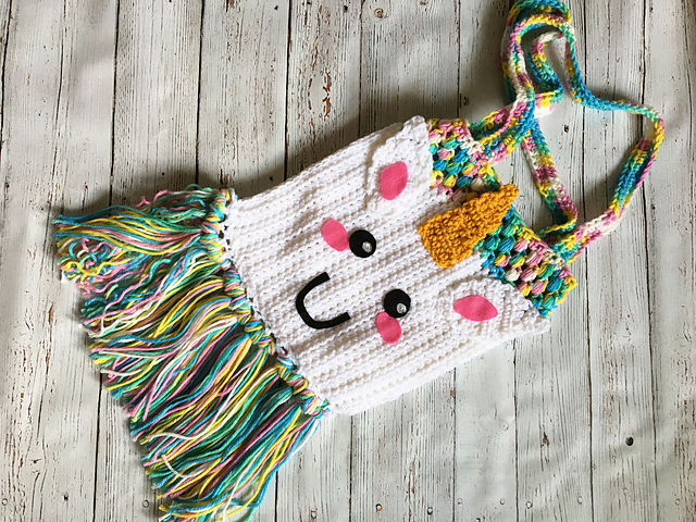 Unicorn Tote Bag Free Crochet Pattern Free Crochet Patterns