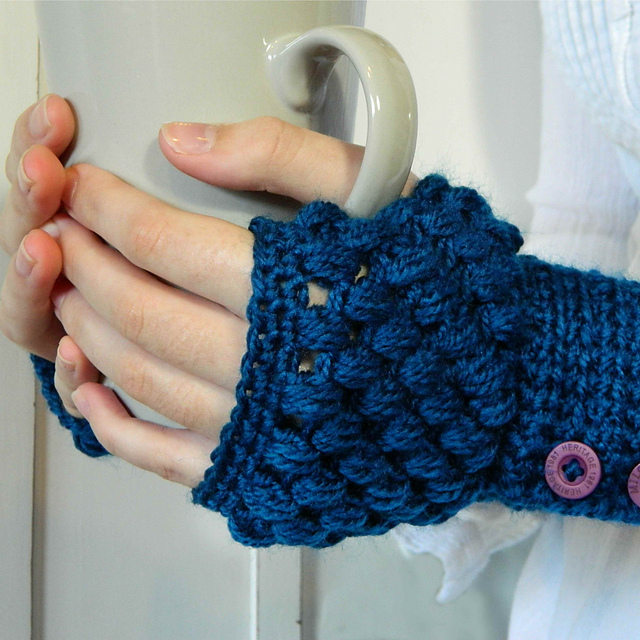 Fingerless Gloves Free Crochet Pattern Free Crochet Patterns