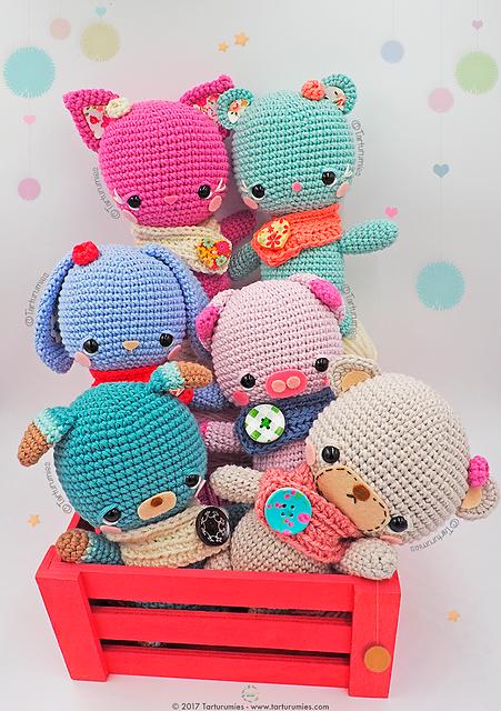 Amigurumis Little Kawaii Free Crochet Pattern Free