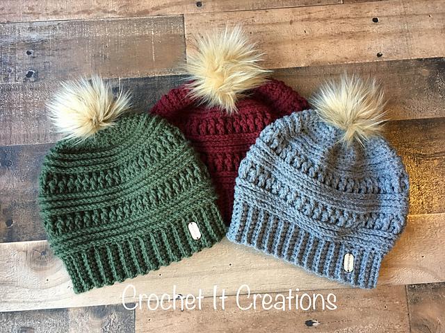 Crochet Winter Hats Free Crochet Pattern Free Crochet Patterns