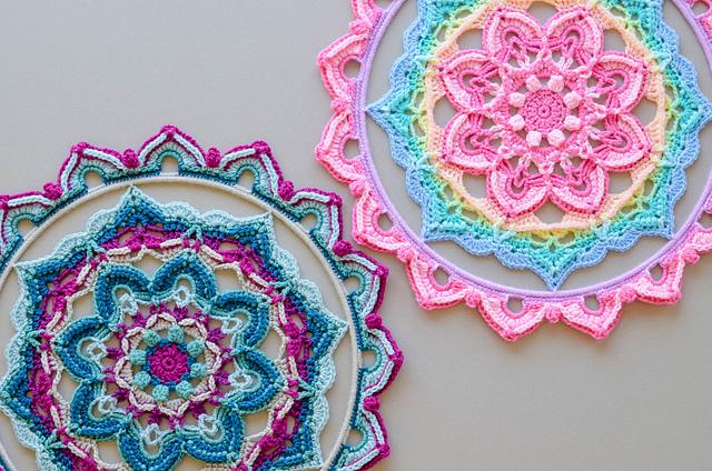 Decorative Mandala Free Crochet Pattern Free Crochet