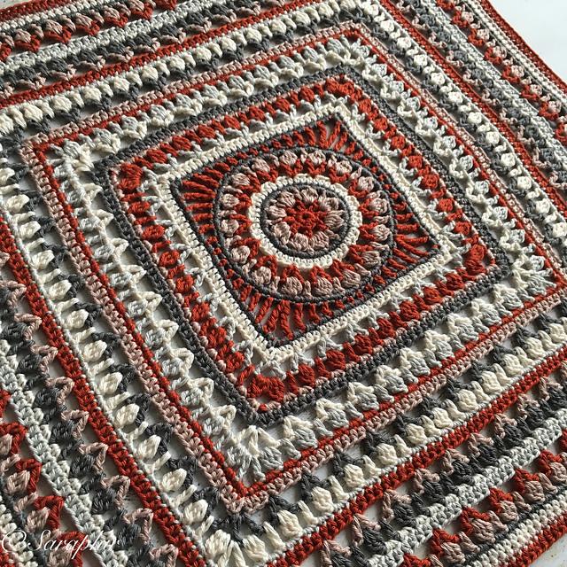 Large Flower Blanket Free Crochet Pattern | Free Crochet ...