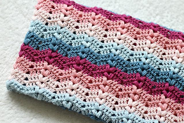 Ruby Baby Blanket Free Crochet Pattern Free Crochet Patterns
