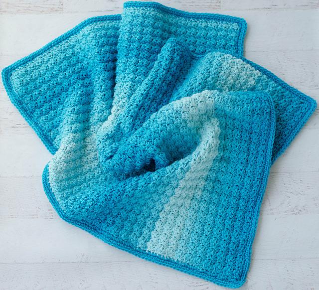 Sedge Stitch Baby Afghan Free Crochet Pattern Free